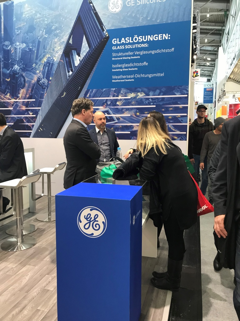 GE Silicone Sealants на выставке BAU2019